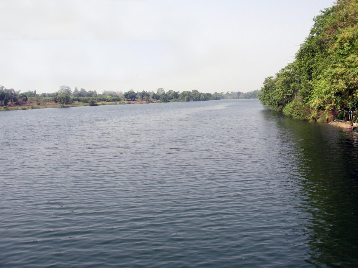 Mahanadi River in Chhattisgarh